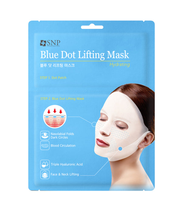 Blue Tension Hydra Lifting Sheet Mask (5 Sheets)
