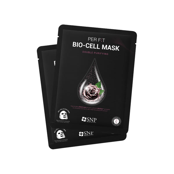 PER FIT BIO-CELL Sheet Mask Double Purifying (5 Sheets)