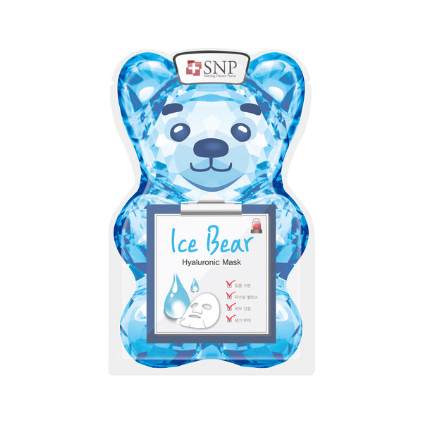 Ice Bear Hyaluronic Sheet Mask (10 Sheets)