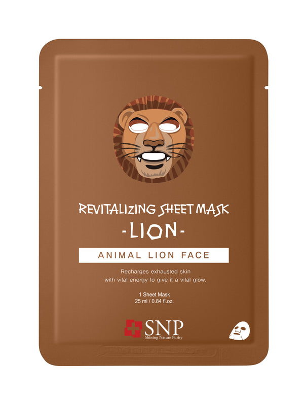 Animal Lion Revitalizing Sheet Mask (10 Sheets)