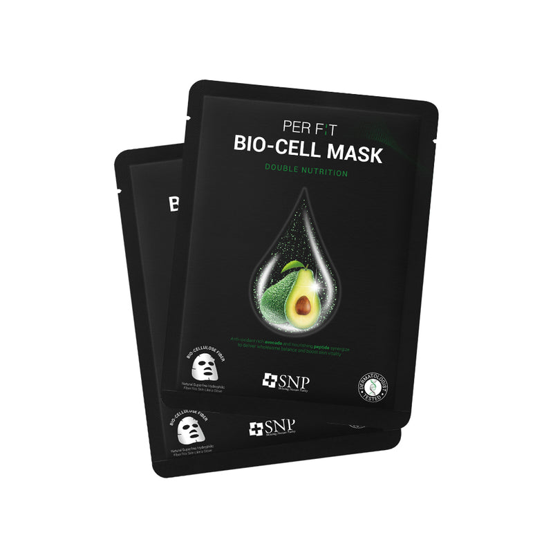 PER FIT BIO-CELL Sheet Mask Double Nutrition (5 Sheets)
