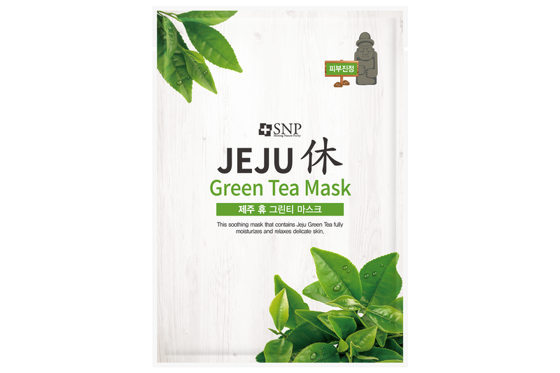 Jeju Rest Green Tea Sheet Mask (10 Sheets)