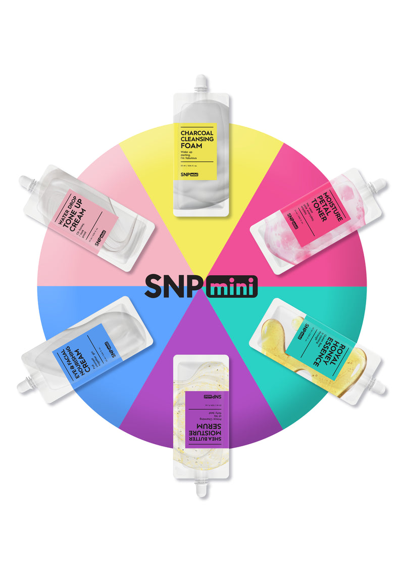 SNP mini - Skin Care Variety Pack (25ml per Pack)