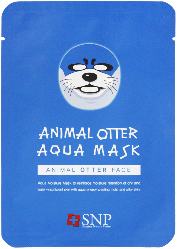 Animal Otter Moisturizing Sheet Mask (10 Sheets)