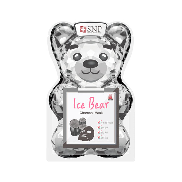 Ice Bear Charcoal Sheet Mask (10 Sheets)