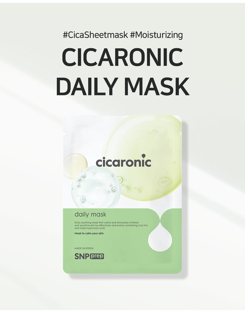 SNP PREP - Cicaronic Sheet Mask (10 Sheets)