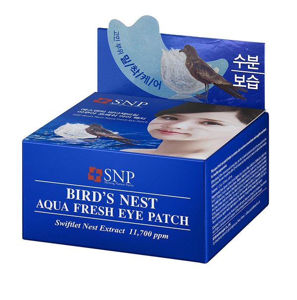 Bird's Nest Aqua Fresh Eye Patch (60 Patches Per Jar)