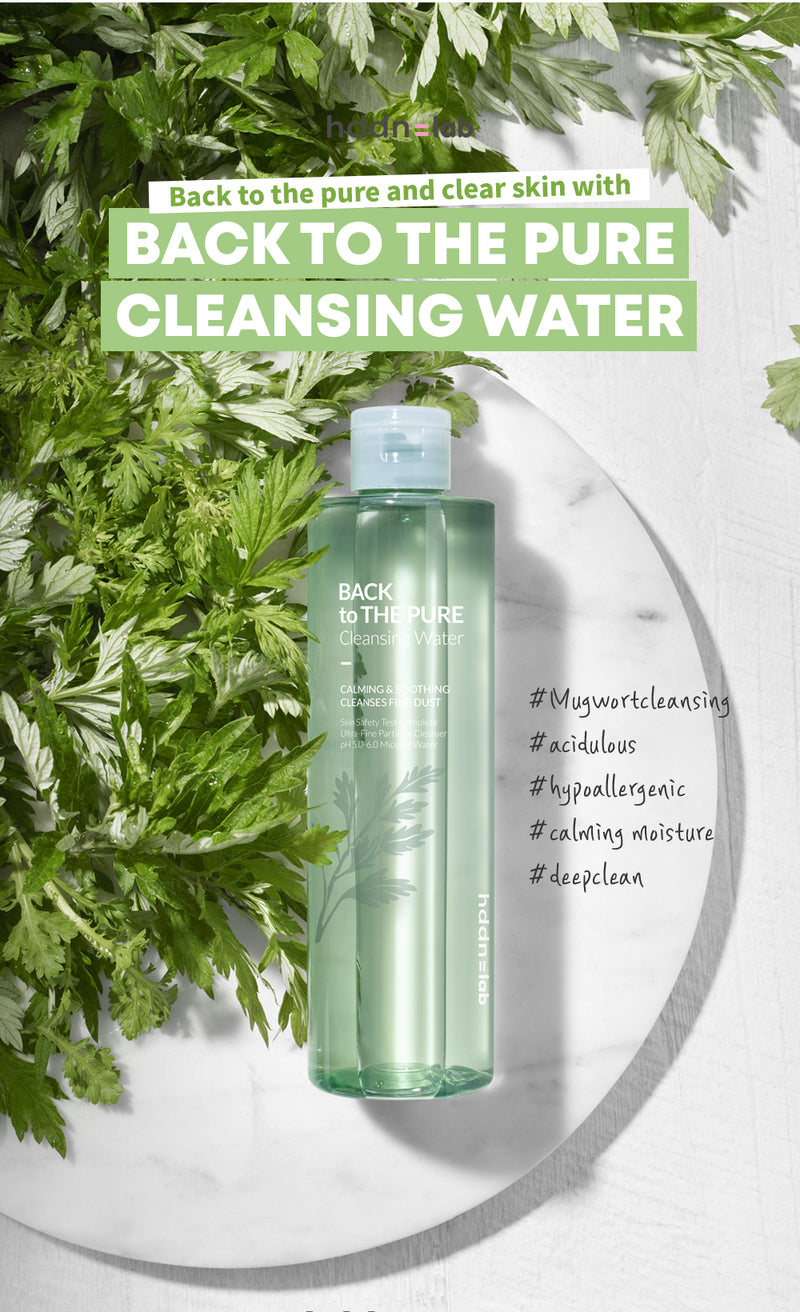 Hddn=lab Back to the Pure Cleansing Water - 300ml