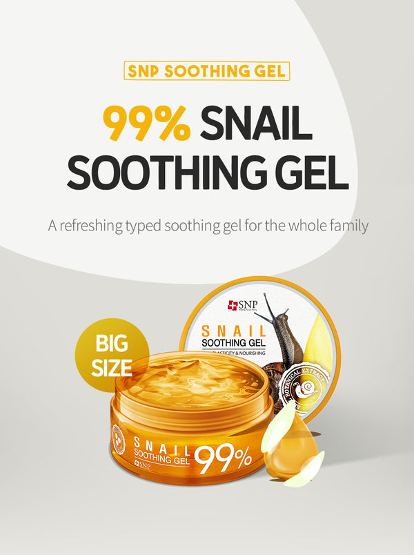 99% Snail Soothing Gel - 300g