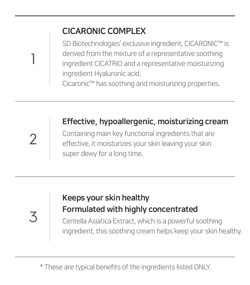 SNP PREP - Cicaronic Soothing Cream (50g)