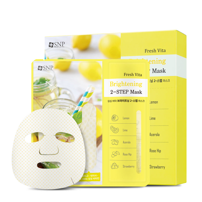Fresh Vita Brightening 2-Step Mask
