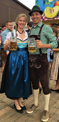 dressing up for oktoberfest in munich