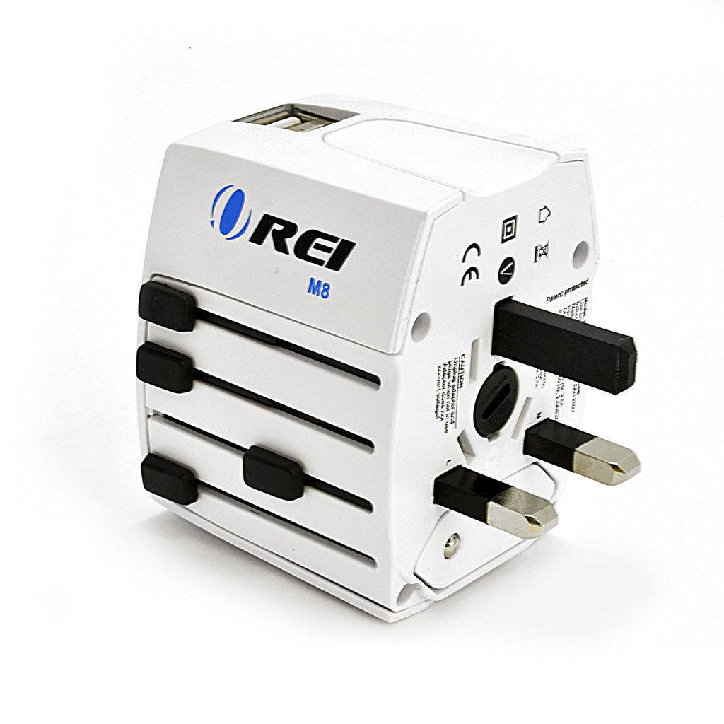 OREI M8 Travel Outlet Adapter