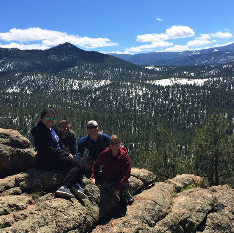 Panorama Point Trail in Corwina Park, Colorado