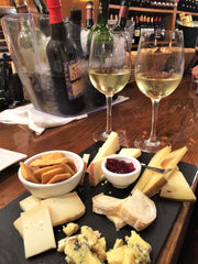 wine and cheese in madrid spain
