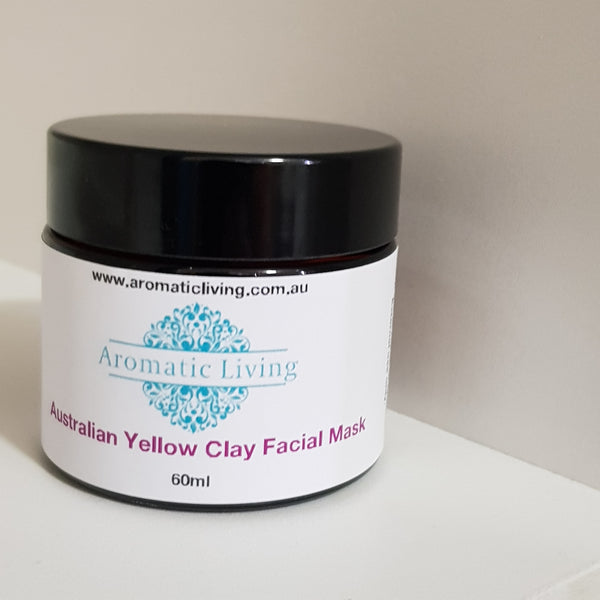 Australian Clay Facial Mask - Yellow