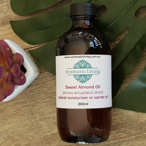 Carrier Oil - Sweet Almond - Aura Lowanna