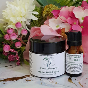 Natural Chest Rub & Oil Blend Duo - Winter Relief - Aura Lowanna