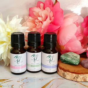 3 Pack Essential Oil Blends - 10ml