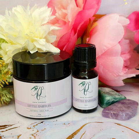 Natural Chest Rub & Oil Blend Duo - Little Sniffles