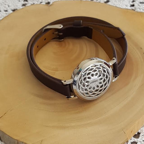 Diffuser Bracelet Leather - Dreamcatcher - Aura Lowanna
