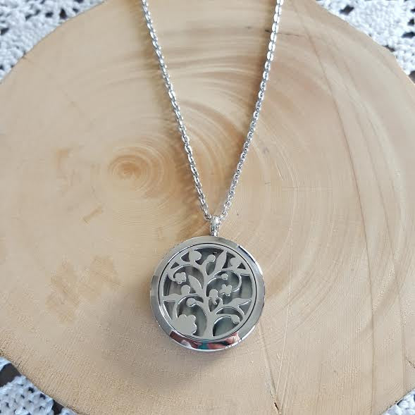 Diffuser Necklace - Tree of Life - Aura Lowanna