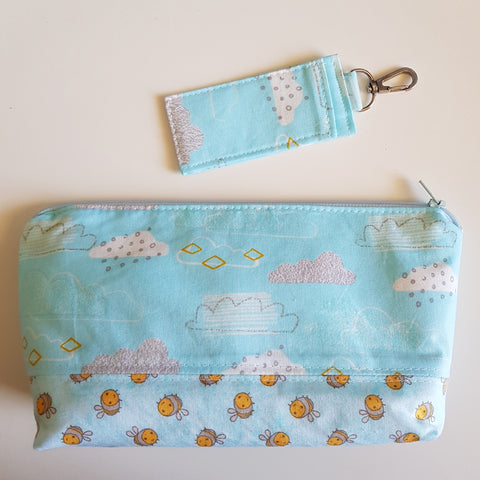 Essential Oil Bag & Keyring Set - Aura Lowanna