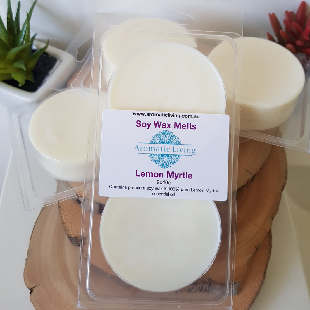 Soy Wax Melts - Round Clam Shell