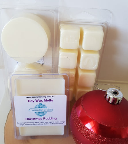 Soy Wax Melts - Christmas Pudding