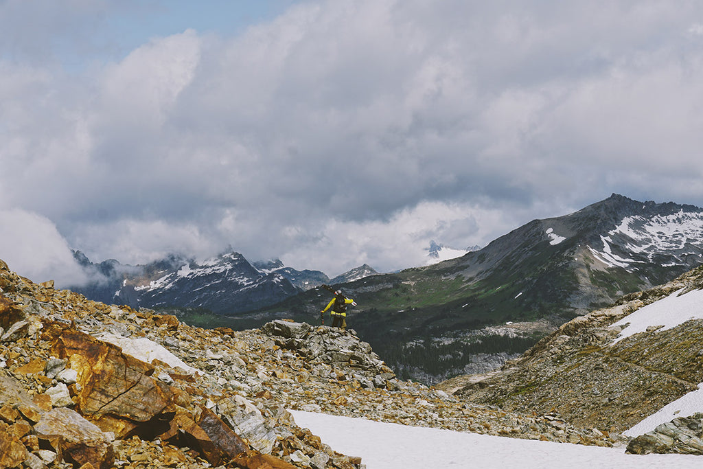 Solo Backpacking in the Glacier Peak Wilderness:  A Journey of Self-Care, Summer Snow and Overcoming Fear