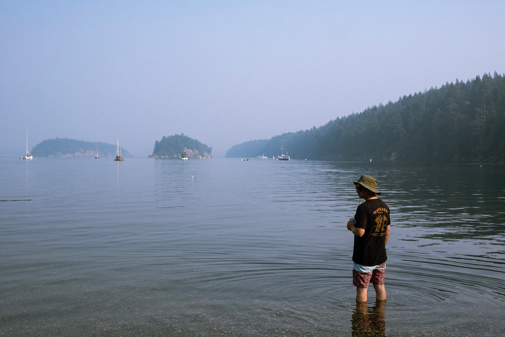 Four Days in the Haze: Camping on Sucia Island