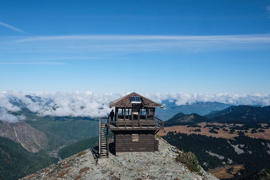 Views from the Top: Fremont Lookout – Mt. Rainier National Park