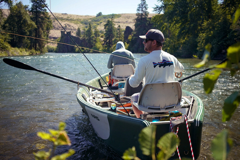 Setting Adrift to Fly Fish the Yakima River