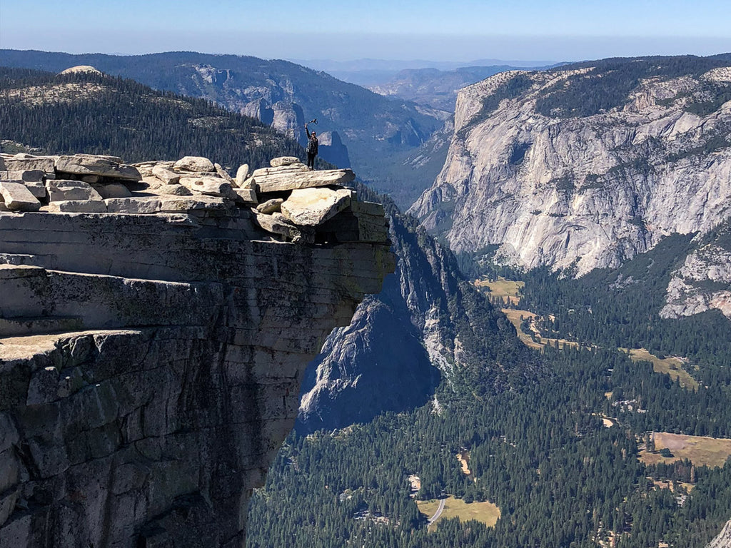 Views from the Top: Half-Dome, Yosemite National Park