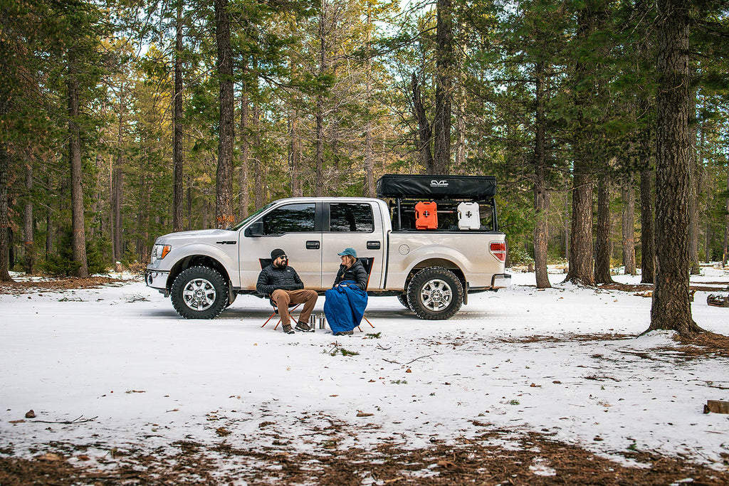 New Year, New Goals - Creating Outdoor New Years Resolutions with the CMT Outbounders Hidden - Winter car camping