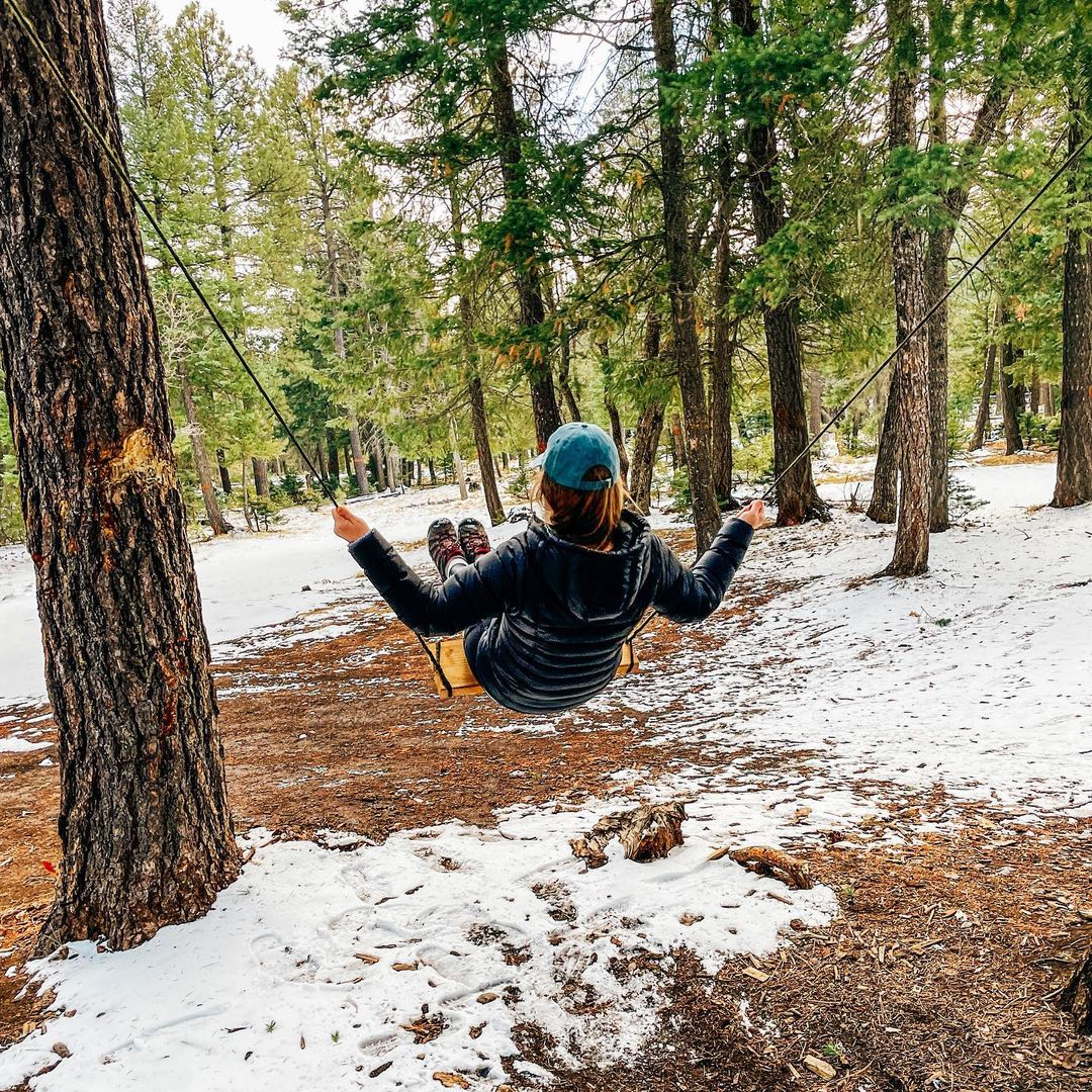 Winter Adventures: Tips for Adventuring In Cold Weather from the CMT Outbounders - Snow Swing