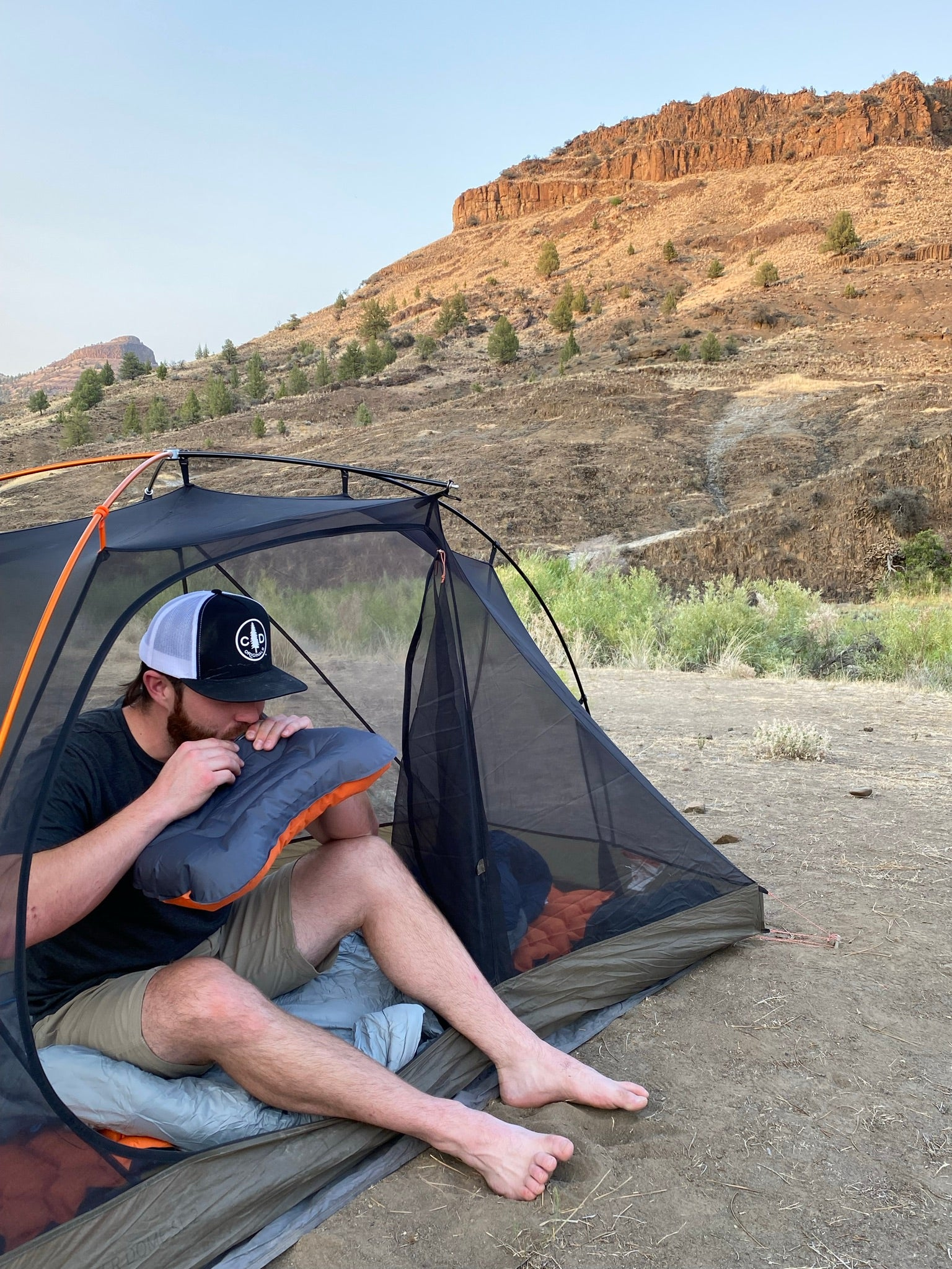 Dispersed Camping Painted Hills
