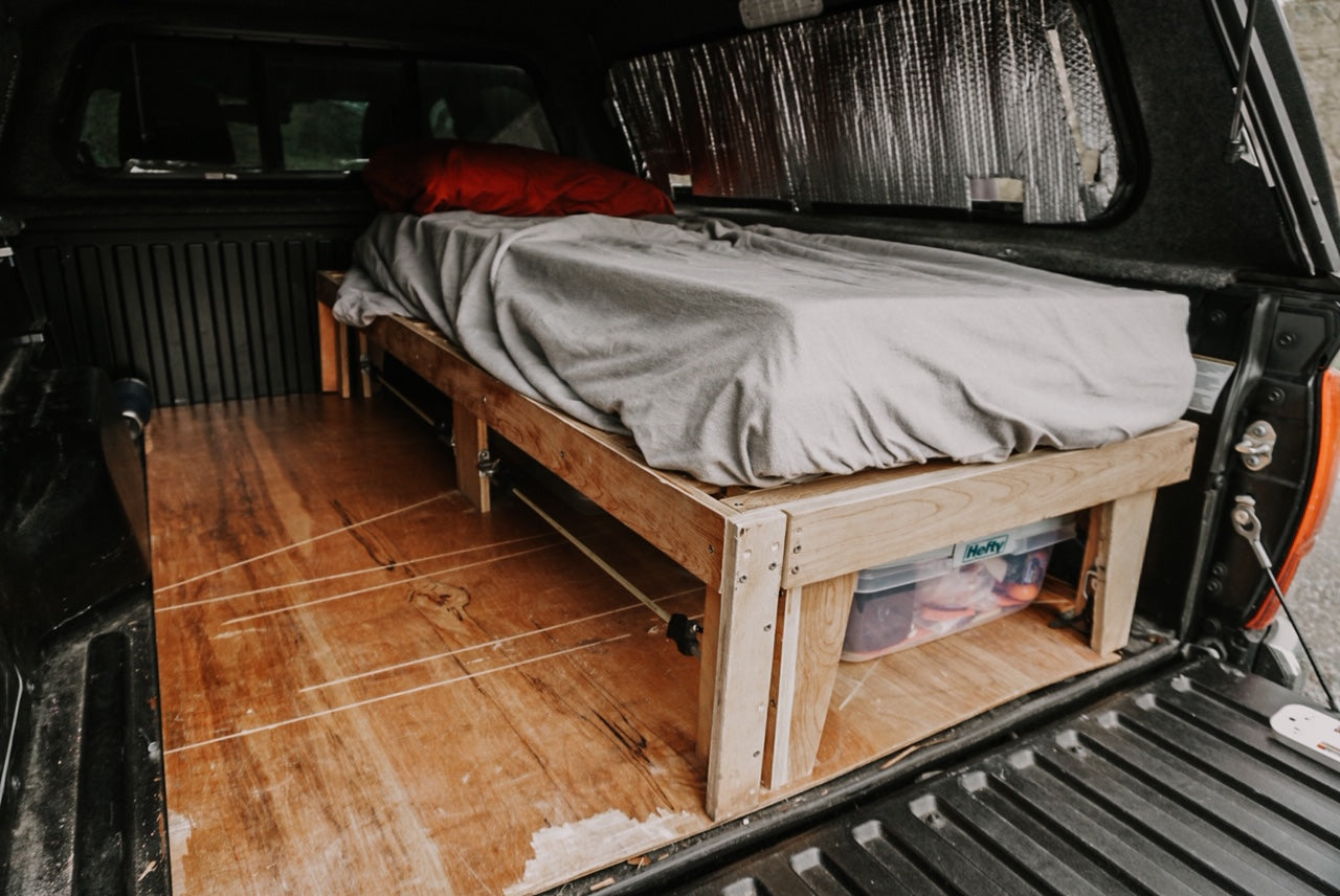 Pand-epic: How Two Adventurers Turned Furloughs Into an All-Time Road Trip - Car Camping Bed