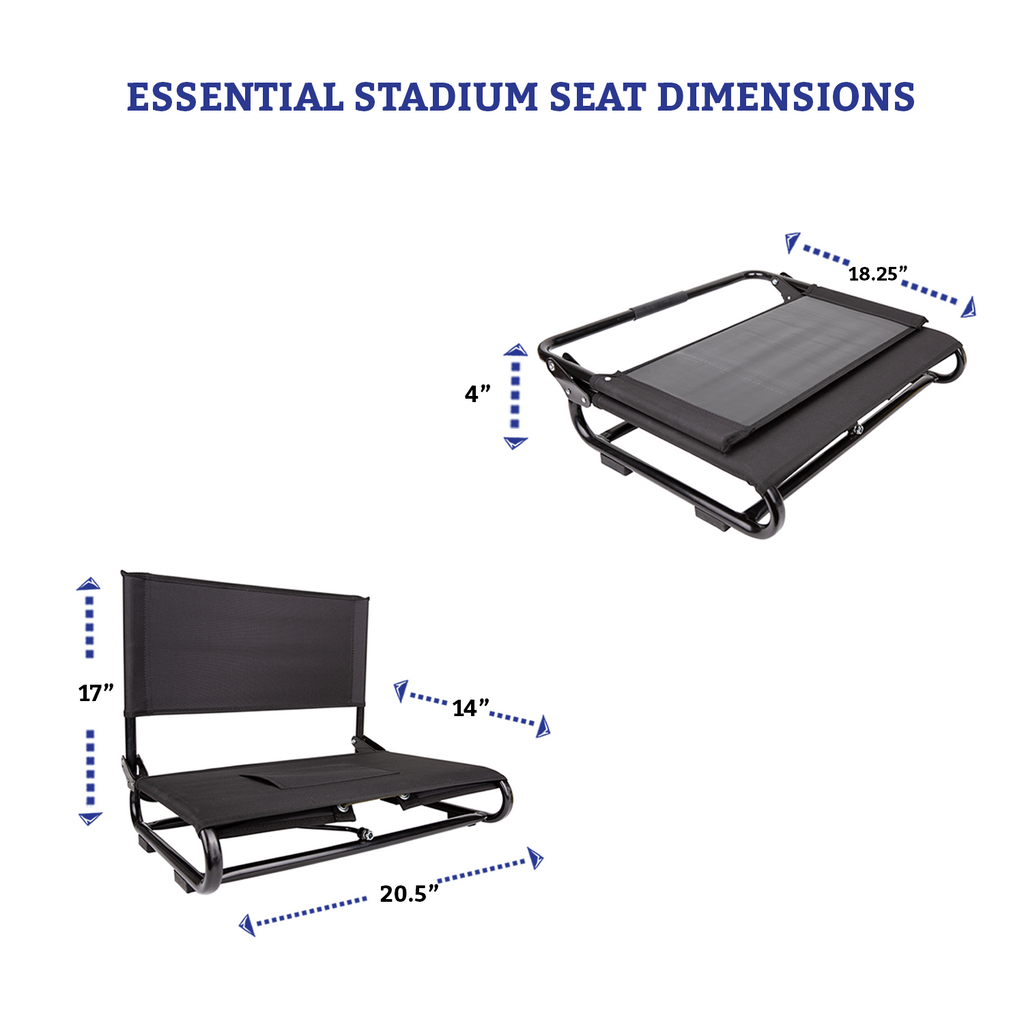 Essential Stadium Seat Dimensions