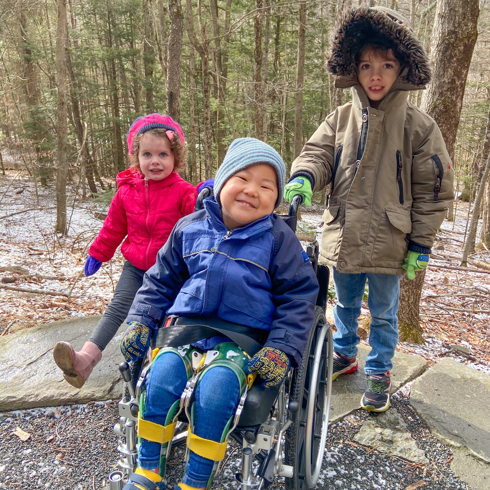 How to be Conscious of Special Needs Hikers and Campers - 3 kids