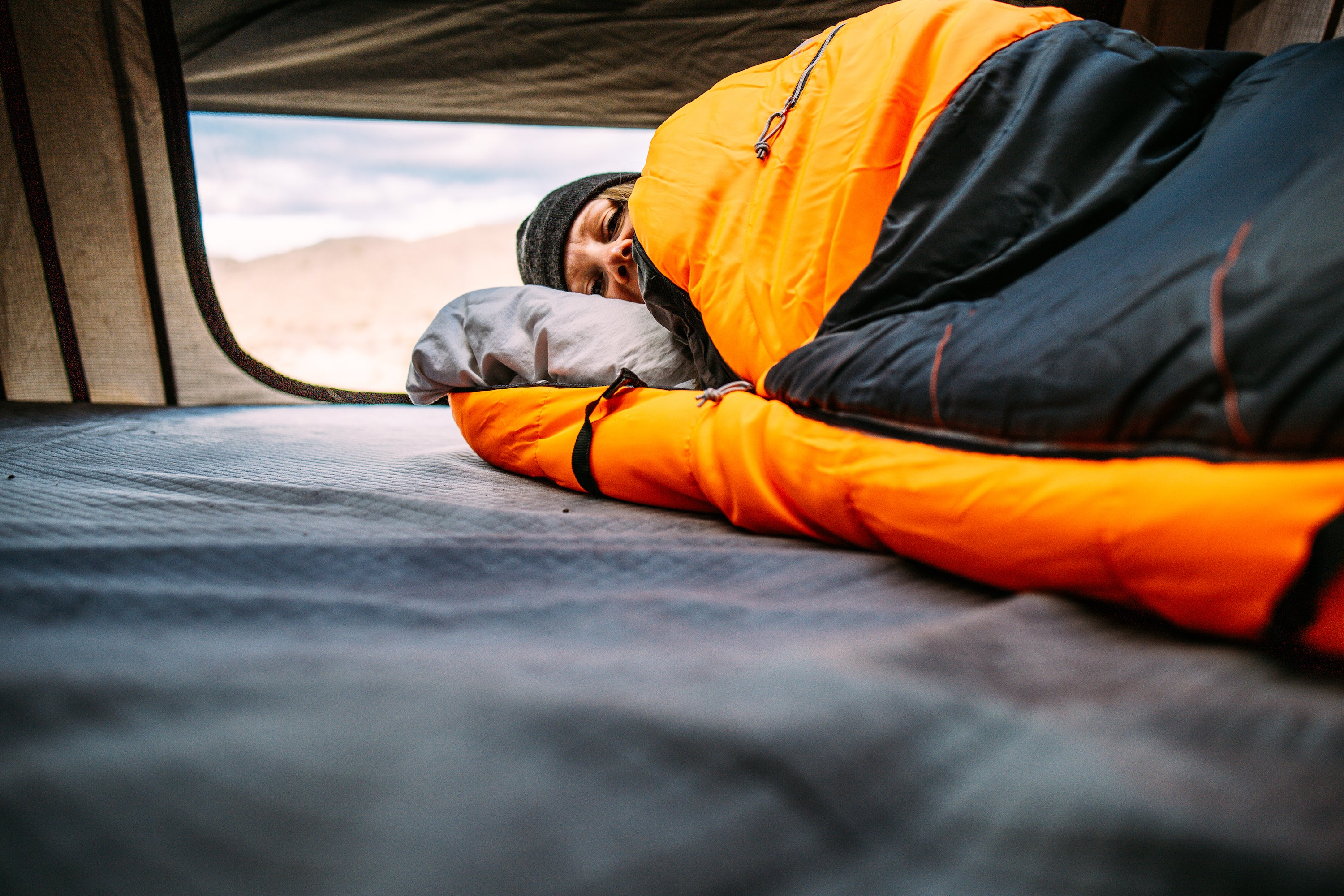 10 Tips for Winter Camping in the Desert - Camping Sleeping Bag