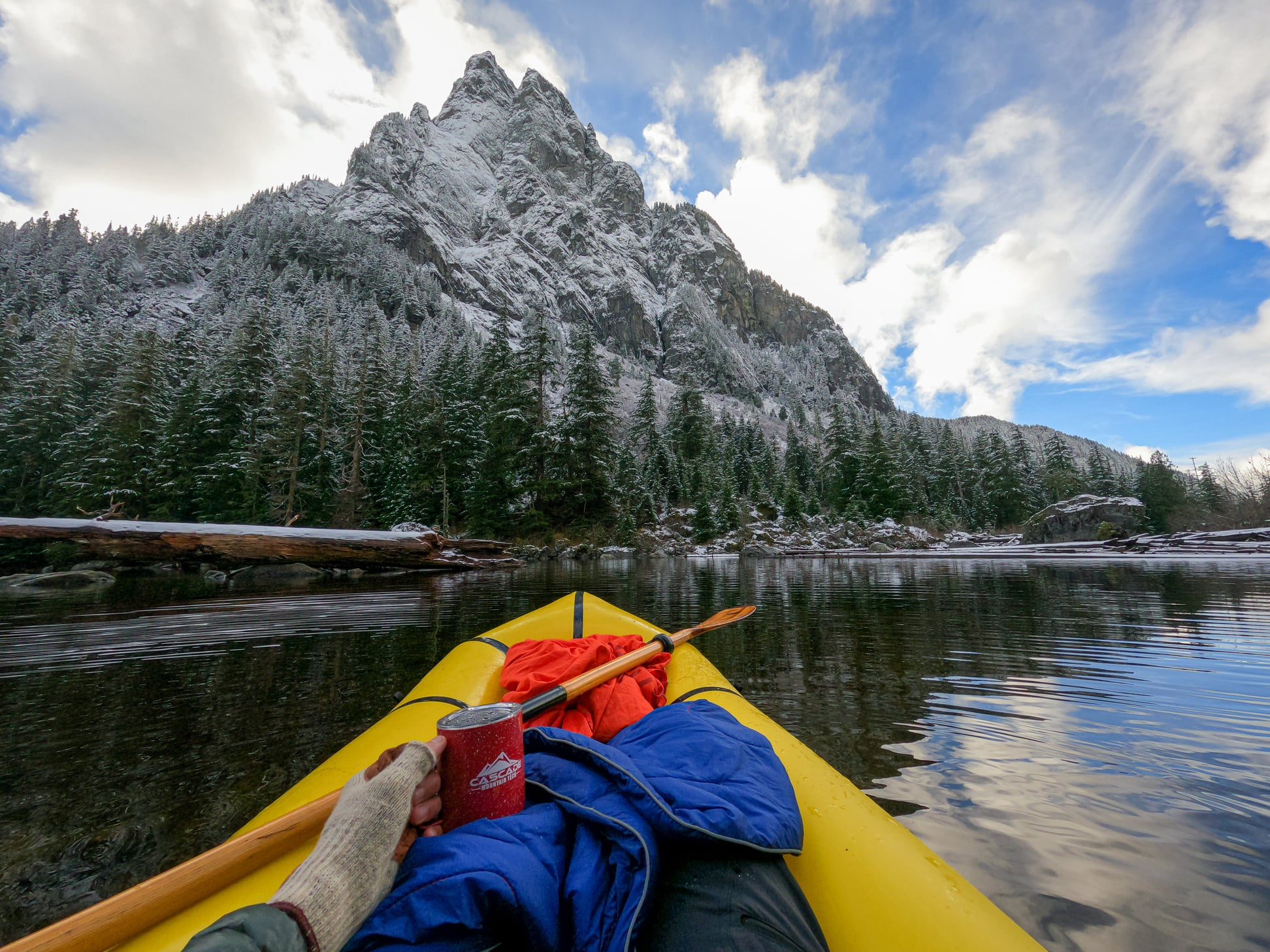 Winter Adventures: Tips for Adventuring In Cold Weather from the CMT Outbounders - Winter Kayaking Blanket