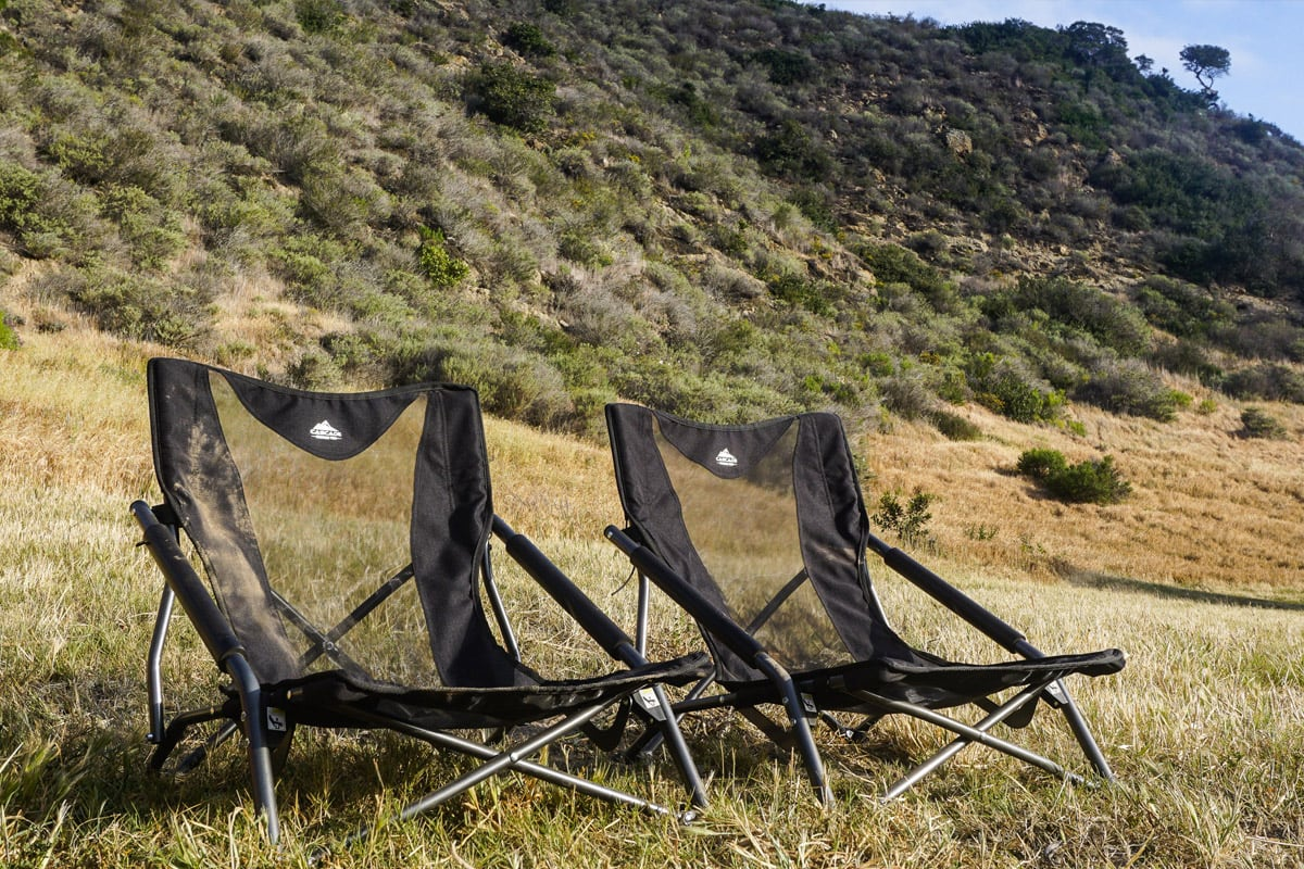 Low Profile Camp Chair Cascade Mountain Tech