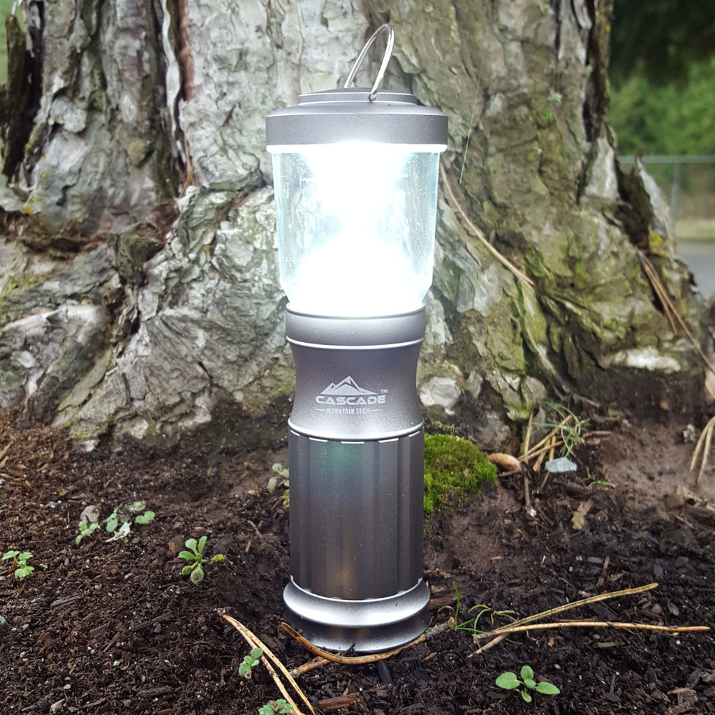 Cascade Mountain Tech Mini Aluminum Lantern 2 Pack