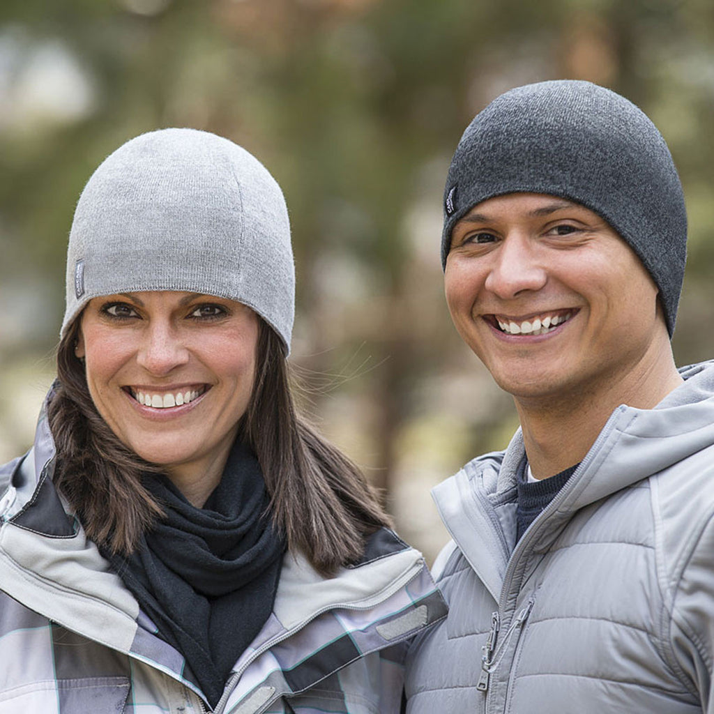 Cascade Mountain Tech Merino Wool Beanie 2 Pack