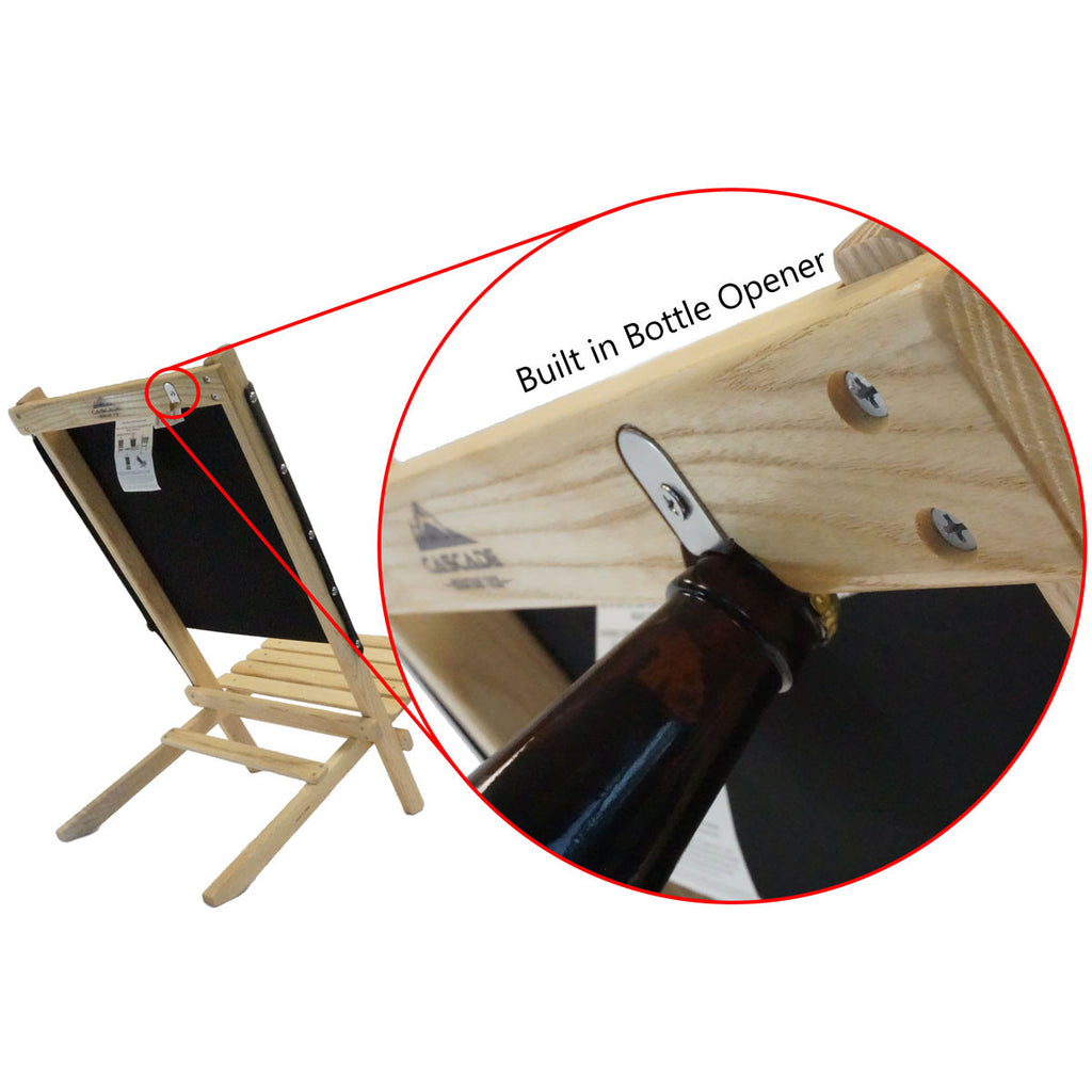 Cascade Mountain Tech Ash Wood Beach Chair