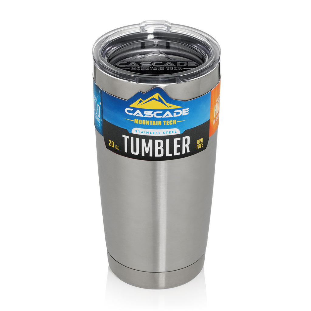 Cascade Mountain Tech Stainless Steel Travel Tumbler 20 oz