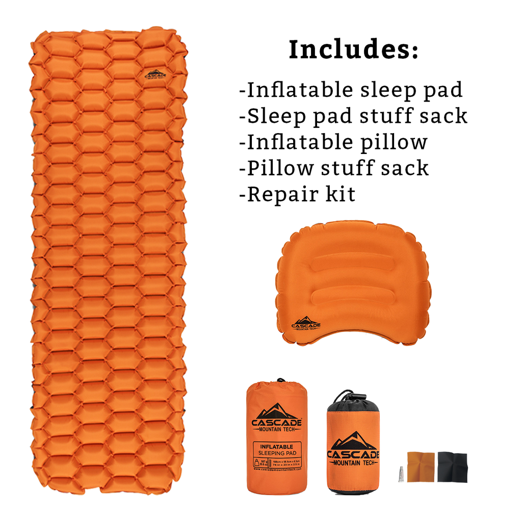 Inflatable Sleeping Pad Set