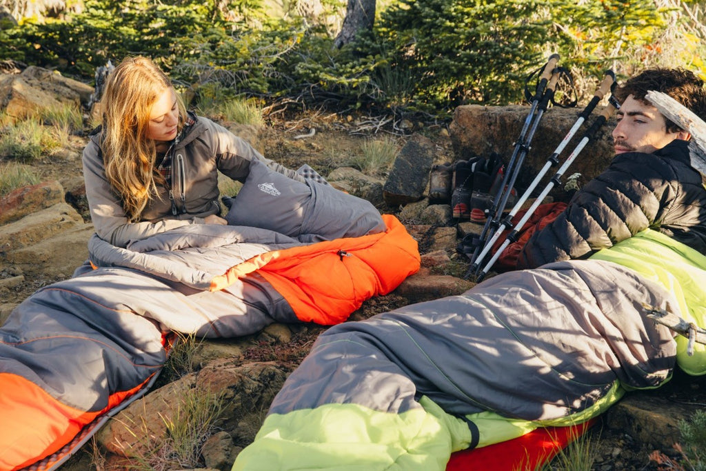The Adventure 0 Degree Mummy Sleeping Bag