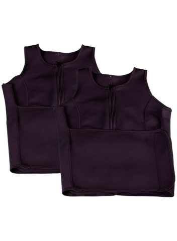 The Perfect Sculpt Sweat Vest - Bundle Of 2